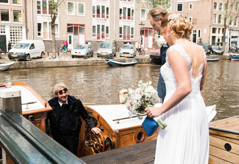Jouw unieke trouwdag op een boot in Amsterdam