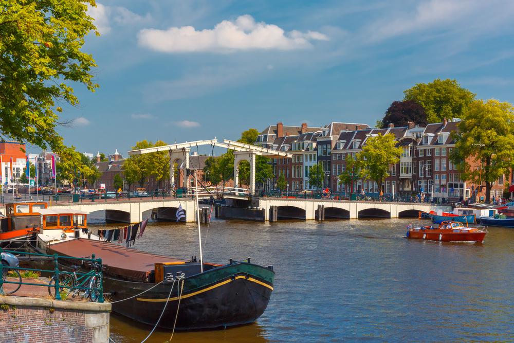 Boottocht door Amsterdamse grachten