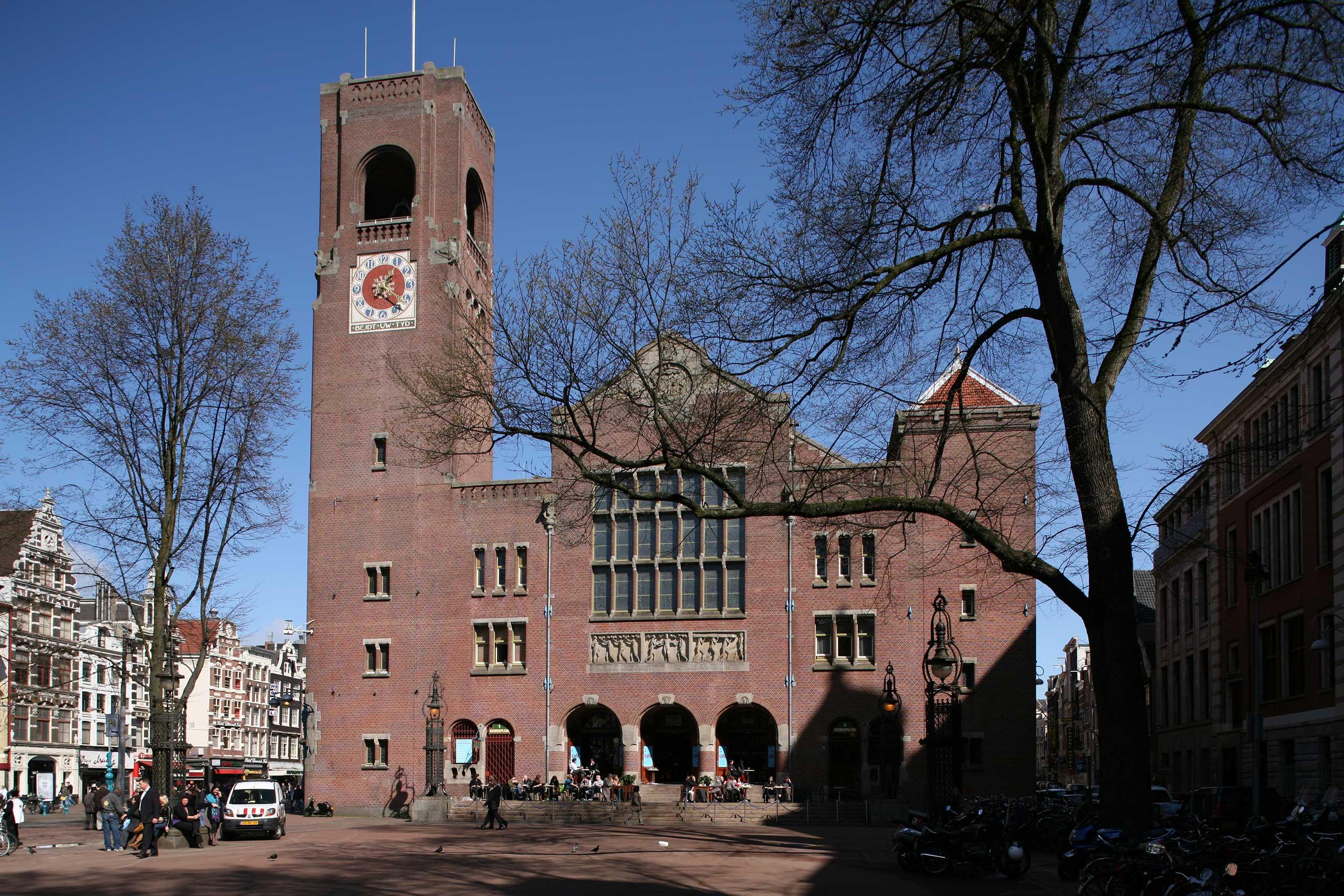 Beurs van Berlage in Amsterdam