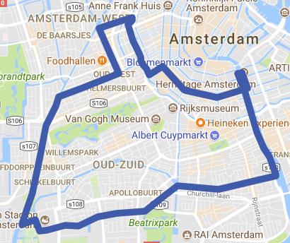 Berlage rondvaart Amsterdam