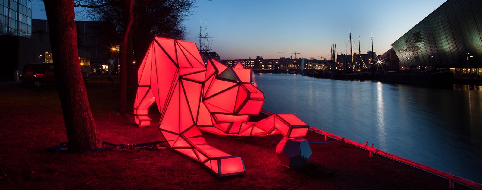 Reserveer een boot voor Amsterdam Light Festival