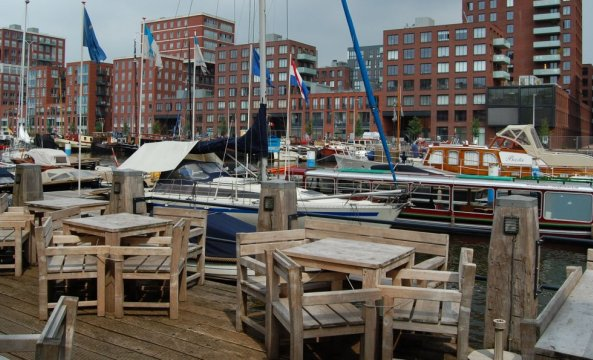 Varen en dineren in Amsterdam