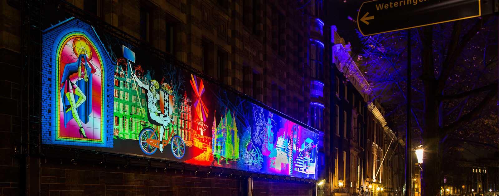 Varen bij Amsterdam Light Festival