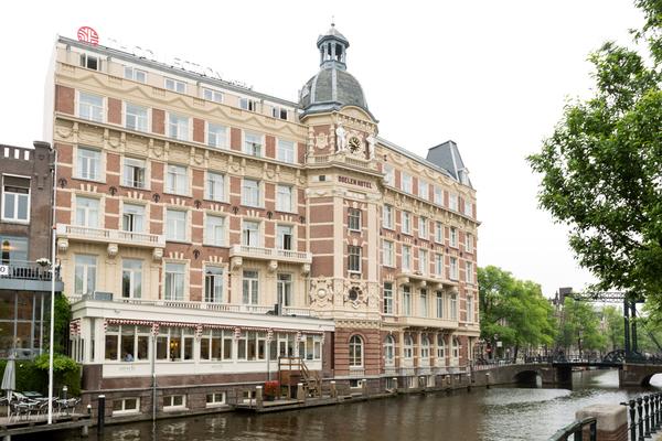 overnachten en varen in Amsterdam