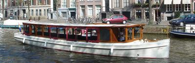 Salonboot Iris Amsterdam