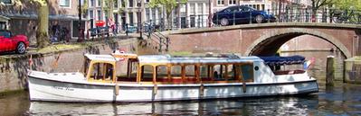 Bateau-salon Mona Lisa Amsterdam