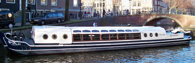 Canal barge 't Smidtje Amsterdam