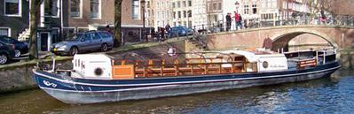 Баржа для каналов Wilhelmus Амстердам