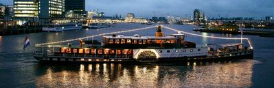 IJ boat Kapitein Kok Amsterdam
