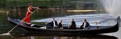 """Gondola """"Gondel"""" Amsterdam"""