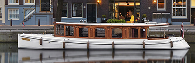 Salonboot De Tourist Amsterdam