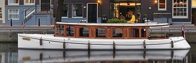 Canal boat De Tourist Amsterdam