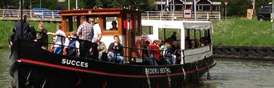 IJ boot Succes Amsterdam
