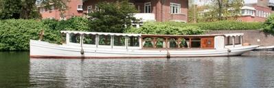 Canal boat Proost van St Jan Amsterdam