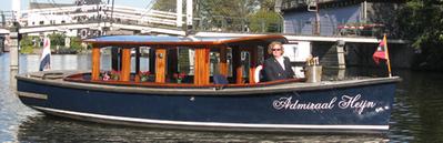 Canal boat Admiraal Heijn Amsterdam
