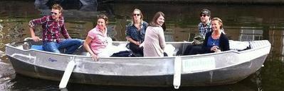Zelfstandig te varen sloep Boats4rent  Amsterdam