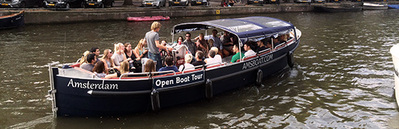 Open boat Amigo Amsterdam