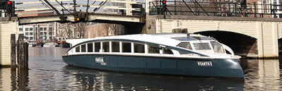 Canal cruiser Staets Amsterdam