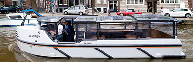 Bateau-salon Mr Grey Amsterdam