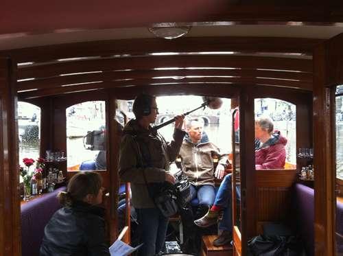 Canal boat Admiraal Heijn