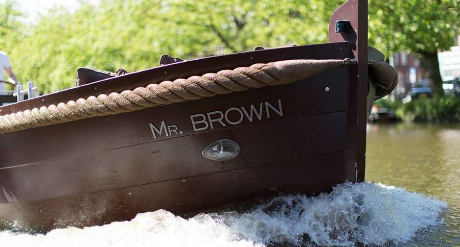 Open boat Mr Brown