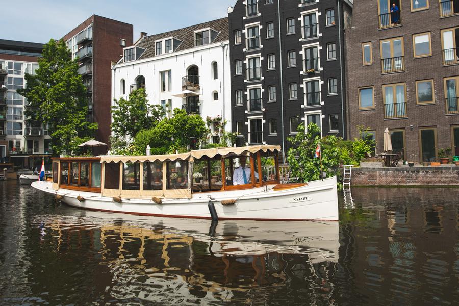 Canal boat Najade