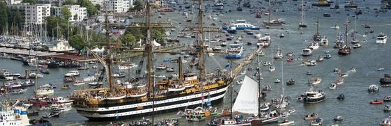 Bienvenue aux grands voiliers Amsterdam