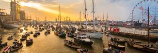 SAIL2020 - Ochtendvaart Amsterdam
