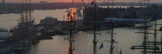 Sail Amsterdam cocktail cruise Amsterdam