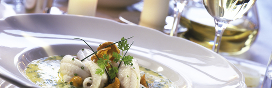 Diner aan boord Amsterdam