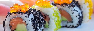 Sushi-Kanalbootsfahrt Amsterdam